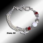 Siam C6 Knit Bracelet