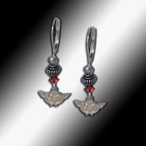 C5 Corvette Swarovski earrings