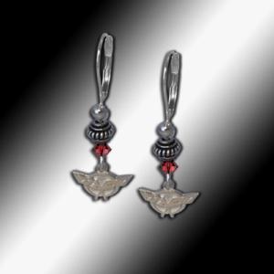 C5 Corvette bead earrings