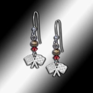 C2 Corvette gold filled earrings