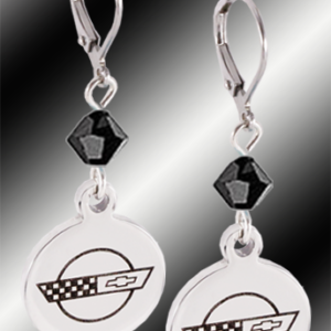 C4 Corvette earrings