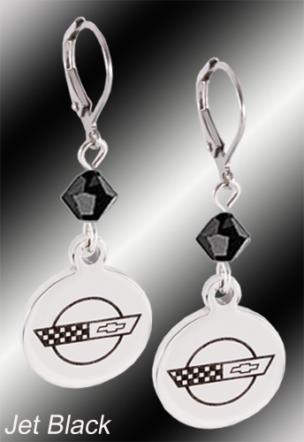 C4 Corvette earrings