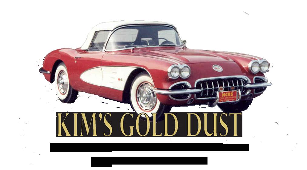 KIM'S GOLD DUST Corvette Jewelry