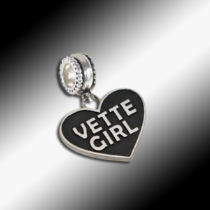 Vette Girl Dangle Charm