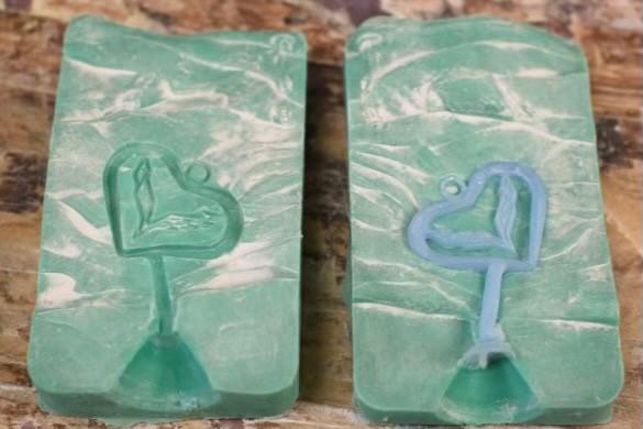c7 Heart Mold Wax